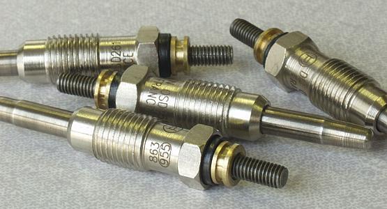 Laserové značení kovových dílů