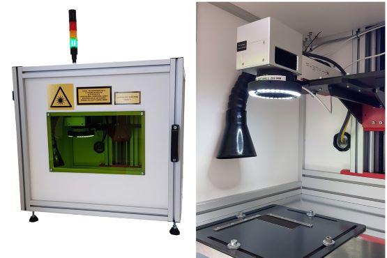 Laserové pracoviště Automator