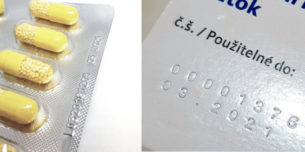 Značení ve zdravotnictví a farmacii